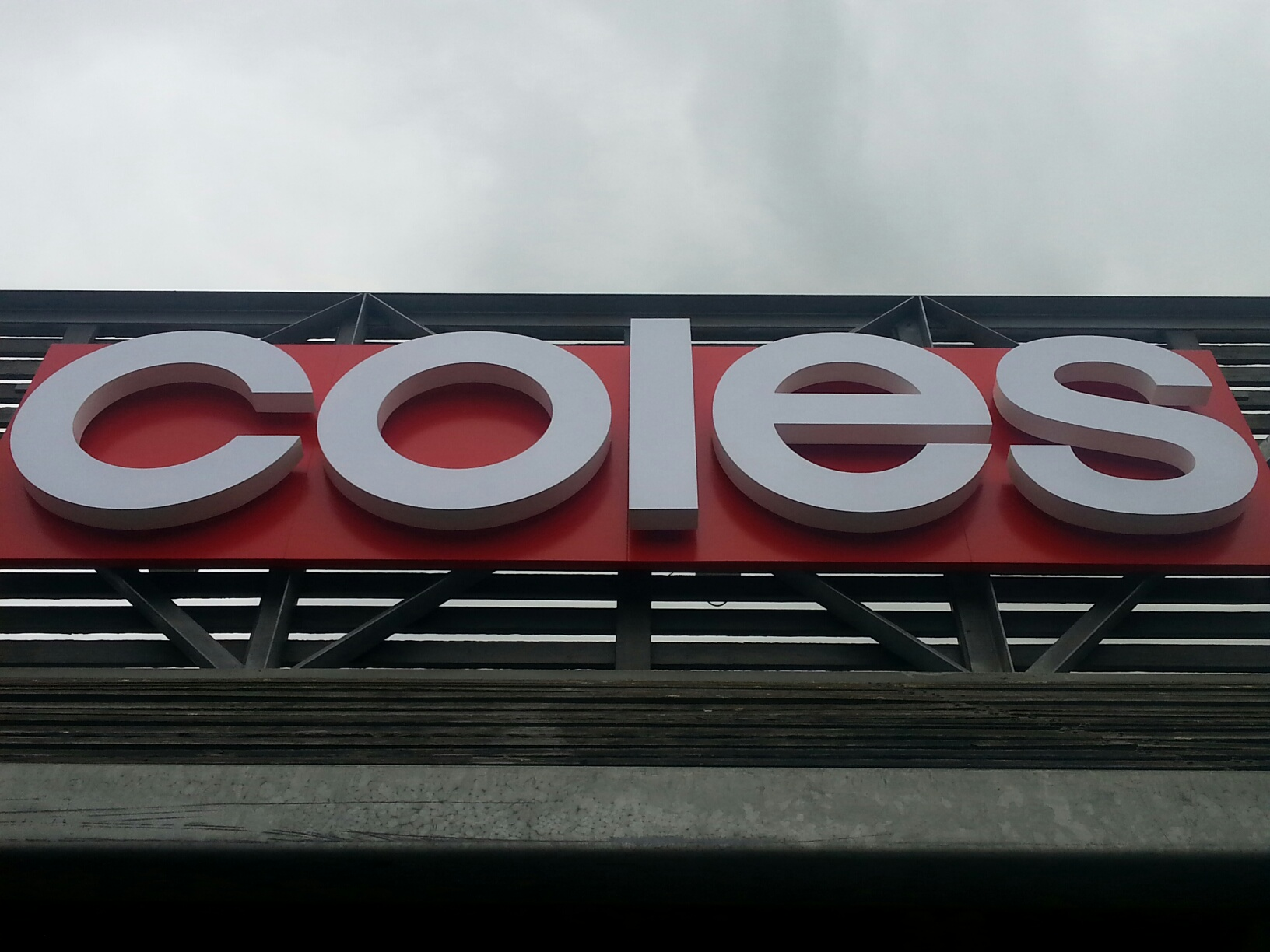 Coles 'Tin Shed'