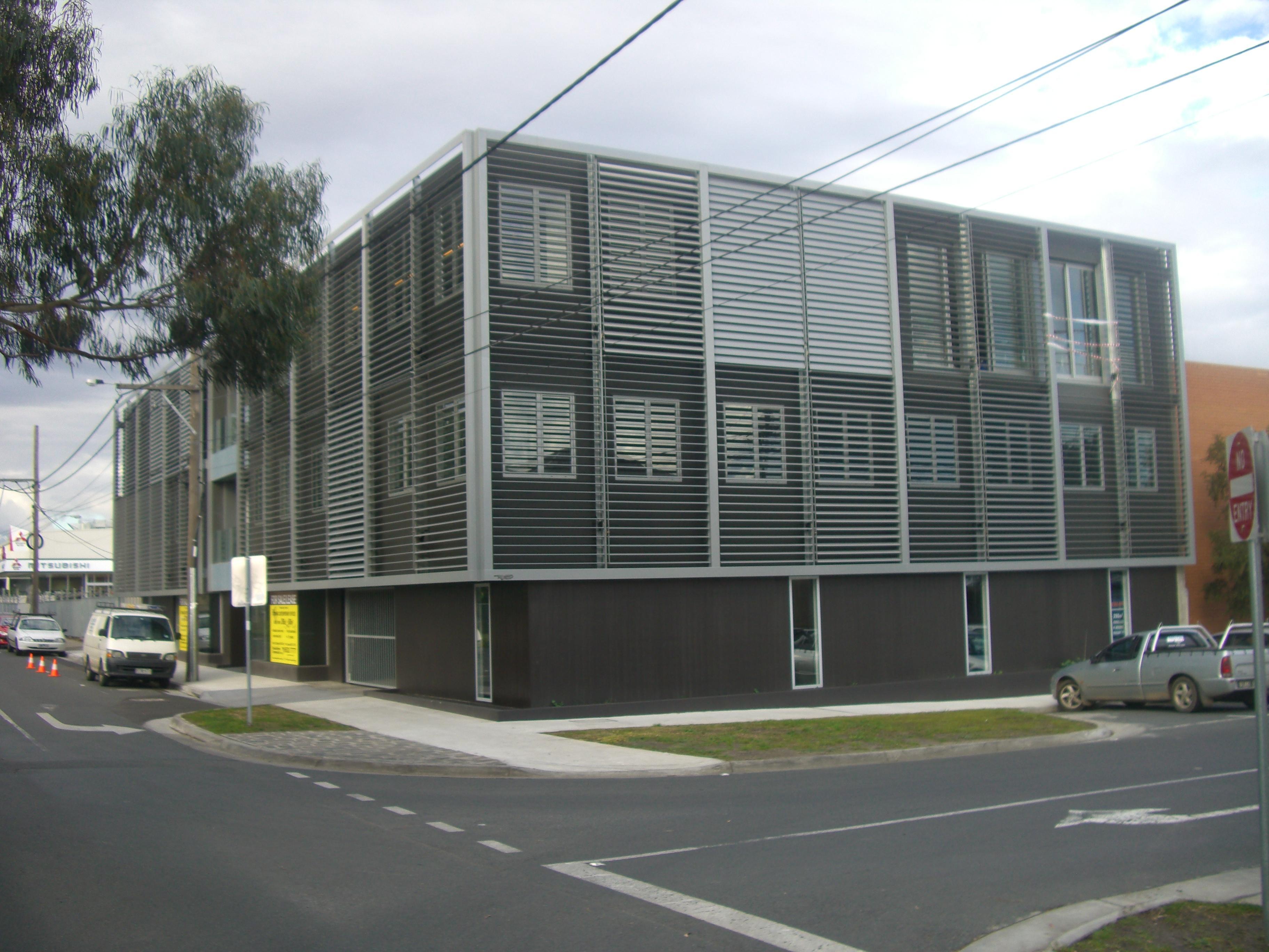 Building Sandwich Panel : Commercial demaine architects office building concrete