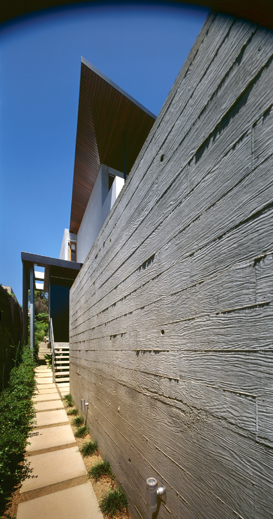 Thermohouse exterior wall detail
