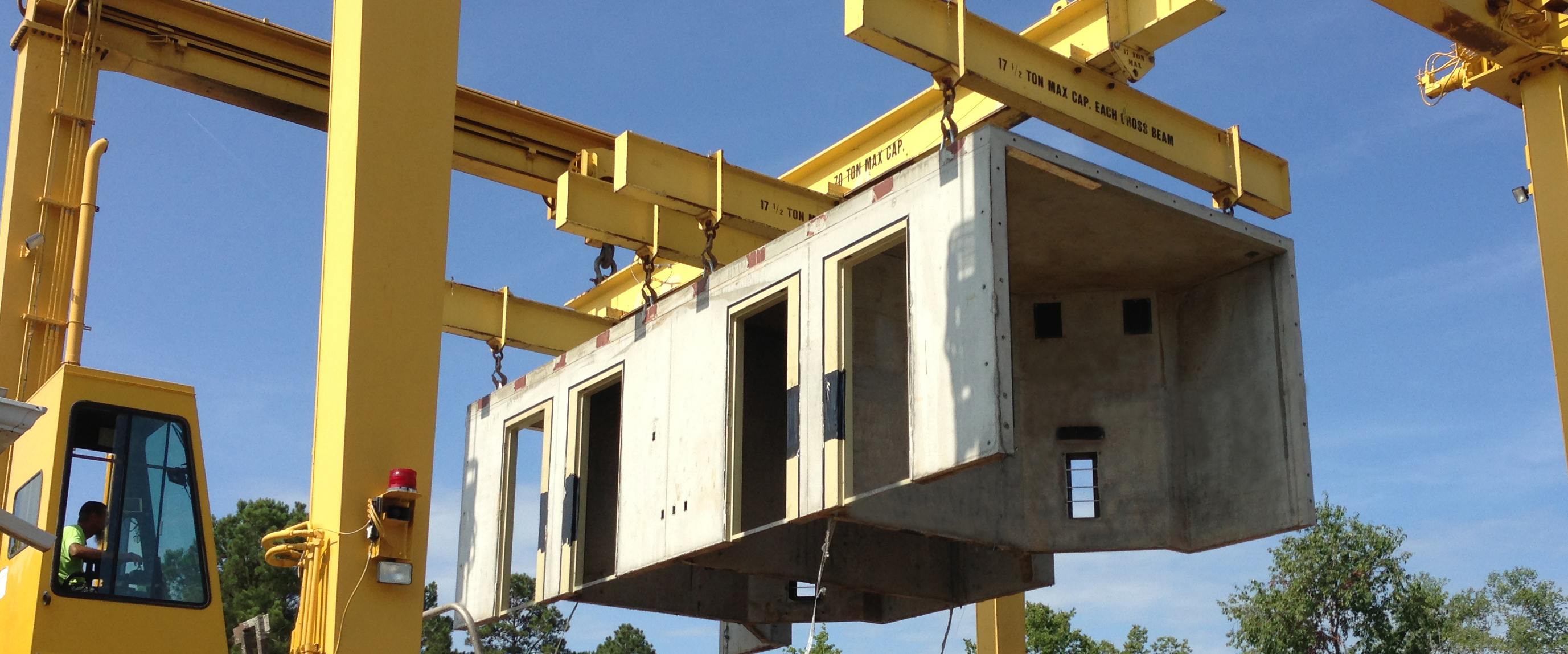 Composite global modular conrete construction with for Prefab framing